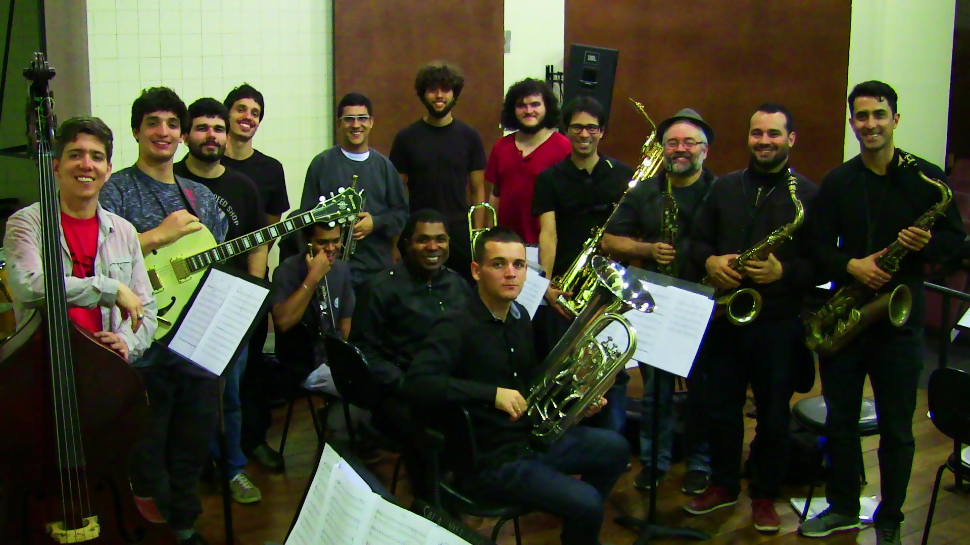 Homenagem a Paulo Moura pela Big Band UNIRIO